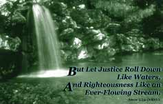 Justice Like Water, Amos Quote LInk